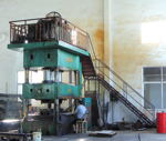 1000 tons of oil press